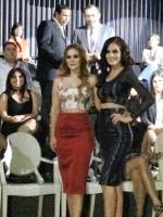 Химена посетила показ Benito Santos (осень/зима). Также на мероприятии присудствовала коллега Химе по сериалу «Буря» Лаура Кармине.