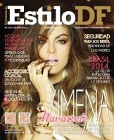 Cканы журнала «Estilo DF».