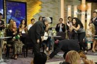 Cурия Вега. Каст сериала «Какие же богатые эти бедные» на шоу «Hoy».