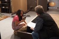 Cурия Вега. Кадры и фото со съемок 164 серии теленовеллы «Какие же богатые эти бедные».