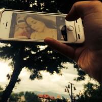 Романтичное фото влюбленных из Instagram'а.