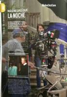Сканы журнала «SKY VIEW» со статьей о фильме «Темнее ночи».