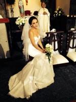 Cурия Вега. Прекрасная невеста на съемках.