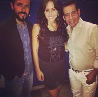 Cурия Вега. Сурия приняла участие в записи передачи «Está Cañón» в рамках промо-тура фильма «Темнее ночи». Шоу будет транслироваться 6 августа на канале Unicable.
