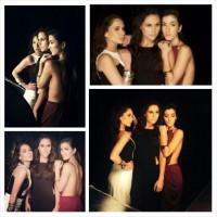 Cурия Вега. Сурия, Адриана и Эрендира на съемках фотосессии для «Estilo DF».