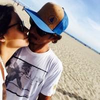 Новые фото Сури и Альберто в Лос-Анджелесе.