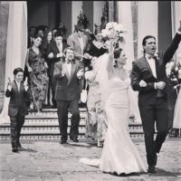 Замечательное фото из Instagram'а Сурии. Еще раз поздравляем всю команду теленовеллы «Какие же богатые эти бедные» с таким успехом!