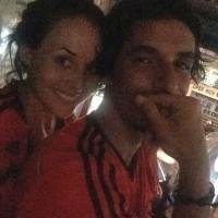 Сурия и Альберто болеют за Мексику на ЧМПФ. Предлагаем Вам полюбоваться чудесным фото из Instagram'а.