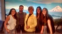 Сурия, Хосе, Эрендира и Она на передаче «Todo para la Mujer».