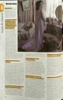 Cурия Вега. Сканы журнала «SKY VIEW» со статьей о фильме «Темнее ночи».
