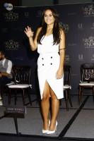 Cурия Вега. Сурия на пресс-конференции фильма «Темнее ночи» (24.07).