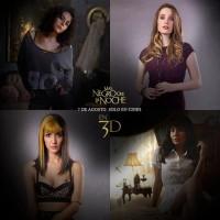 Промо-фото к фильму «Темнее ночи», на котором изображены главные героини.