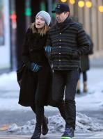 Оливия и Джейсон во время прогулки по улицам Нью-Йорка