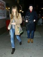 Джастин и Джессика в Нью-Йорке.