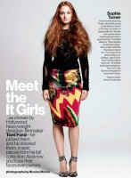 US Glamour Magazine, September 2013