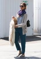 Джессика Альба на шопинге в Брентвуде
