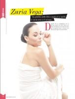 Cурия Вега. Сурия украсила обложку и страницы журнала «Mujer Queretaro» (июль-август 2014).