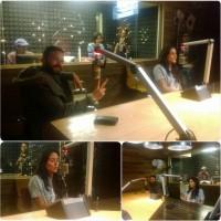 Сурия и Хосе побывали на радиостанции Exa FM 104.9.