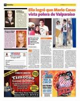 Марио Касас в футболке Вальпараисо
