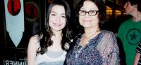 Миранда и её мама Крис