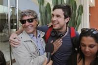 Марио Касас говорит со своими чилийскими фанатами