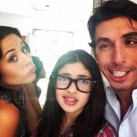 Сурия посетила Альберто на съемках сериала-конкурента.