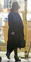 Хелена Бонэм Картер. Бонэм Картер - Бертоны в Лондоне 5 декабря