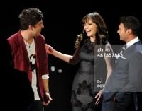 Зоуи Дешанель. Зоуи на шоу American Idol - 30 Апреля, 2014
