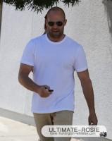 С Джейсоном на прогулке в Западном Голливуде