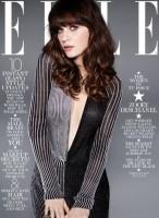 "Два варианта обложки для журнала ""Elle"" (Америка) . Февраль 2014."