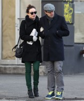 Оливия Уайлд. Оливия и Джейсон во время прогулки по улицам Нью-Йорка.