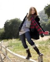 Молли К. Куинн. Фотосессия для журнала H&M Kids, коллекция одежды Осень/Зима 2008