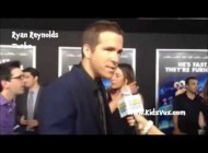 On the Red Carpet with Ryan Reynolds from Turbo