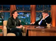 Zach Braff On Craig Ferguson Show! 2013