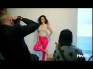 Behind the scenes with Rachel Bilson for Health shoot