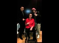 Mini Clip: Eminem Poses For Photos at Birthday Party in Detroit | February 24, 2013