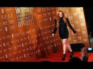 Lindsay Lohan Accepts Fashion Award at Sohu China Event