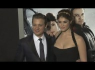 Jeremy Renner and Gemma Arterton on the red carpet for Hansel and Gretel: Witch Hunters