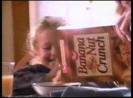90'S BANANA NUT CRUNCH CEREAL COMMERCIAL W HAYDEN PANETTIERE FROM HEROES