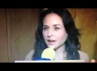 Entrevista a Zuria Vega en Alfombra de CATS (Primero Noticias) 10/05/2013