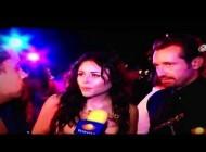 Cурия Вега. Зурия на церемонии TVyNovelas. Entrevista Zuria Vega y Gabriel Soto Ganadores Premios Favorito del Publico TvyNovelas 2013