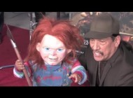 DANNY TREJO meets CHUCKY at Eyegore Awards