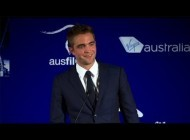 Watch Robert Pattinson's Sweet and Silly Speech at the Australians in Film Awards