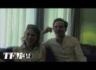 Andrew Scott & Amy Huberman - The Stag - Toronto Interview