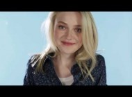 Dakota Fanning Wears UNIQLO Spring Collection 2014