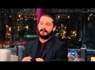 Shia LaBeouf on The Late Show with David Letterman 2-4-2013 talks Alec Baldwin difficulties!