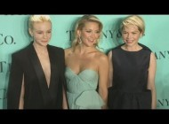 Джессика Бил.  Звёзды на вечеринке Tiffany & Co в Нью-Йорке:. Kate Hudson, Jessica Biel shines at Tiffany's ball