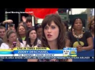 Zooey Deschanel discusses her new fashion line on GMA