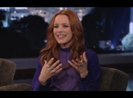 Rachel McAdams on Jimmy Kimmel Live PART 1