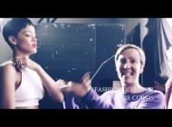 Rihanna Elle UK photoshoot - Behind The Scenes 2013